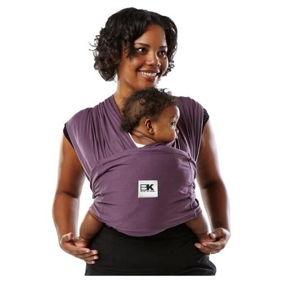 Baby K Tan Accessories Baby Ktan No Wrap Baby Carrier Eggplant Xl